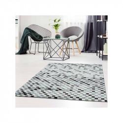 Moderns paklājs ar zaļiem...