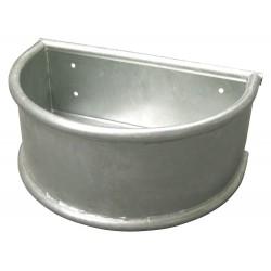 Round Trough galvanized