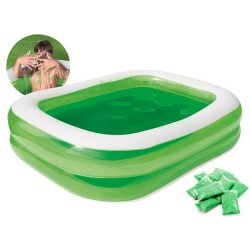 Piepūšamais baseins + Slime...