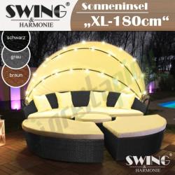 LED Poliratano gultas Sun Island - 180cm – EVE