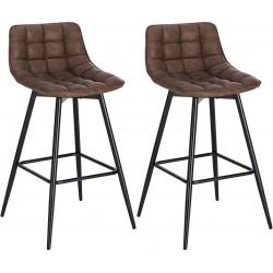 Mākslīgās ādas bāra krēslu...