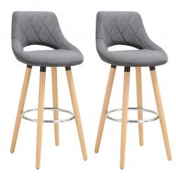 Koka un lina bāra krēslu...