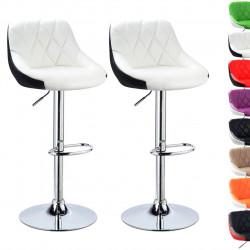 Divu krāsu bāra krēslu...