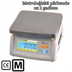 Svari D1 ar metroloģisko pārbaudi līdz 25 kg