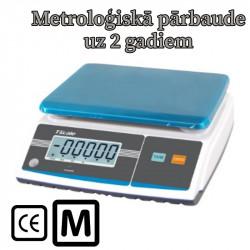 Svari GW-2 ar metroloģisko pārbaudi līdz 30 kg